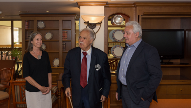 Photo of In conversation with  George Bizos